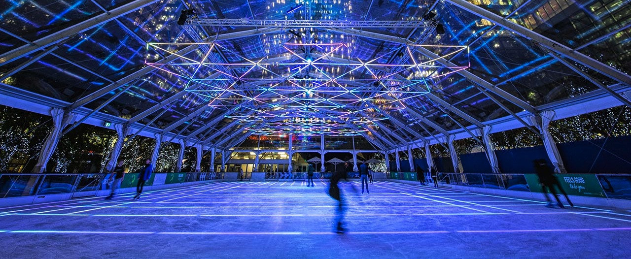 Canary Wharf Luminocity London