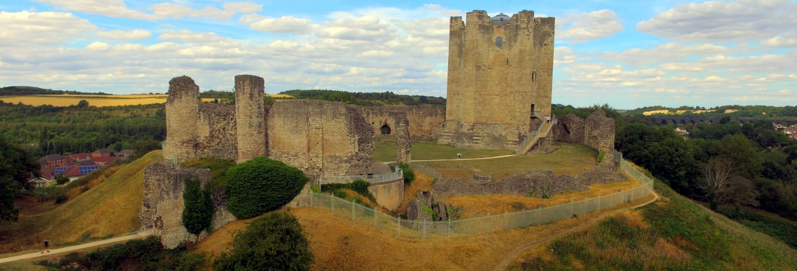 Doncaster Conisbrough Castle Yorkshire Hull Trains