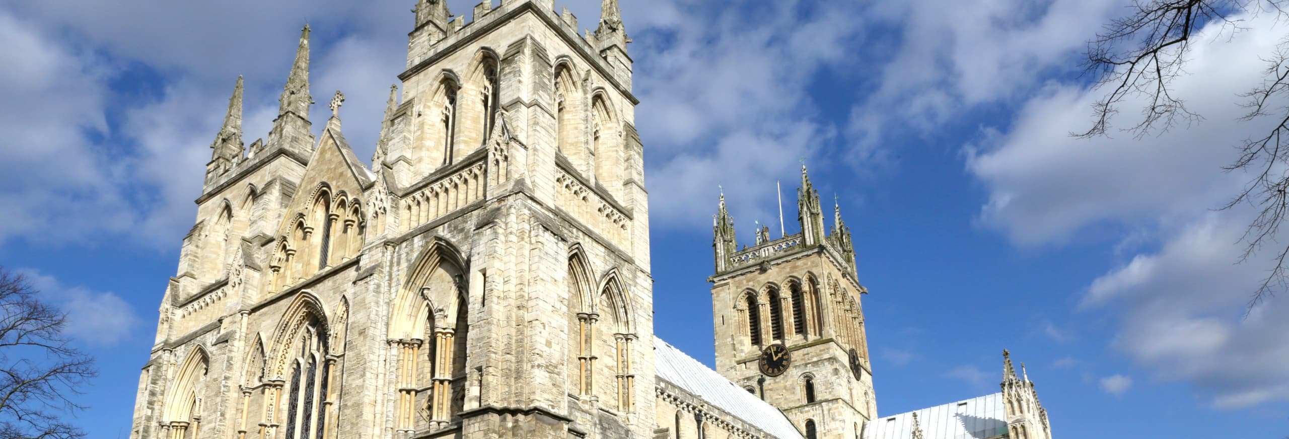 Visit Selby Abbey with Hull Trains