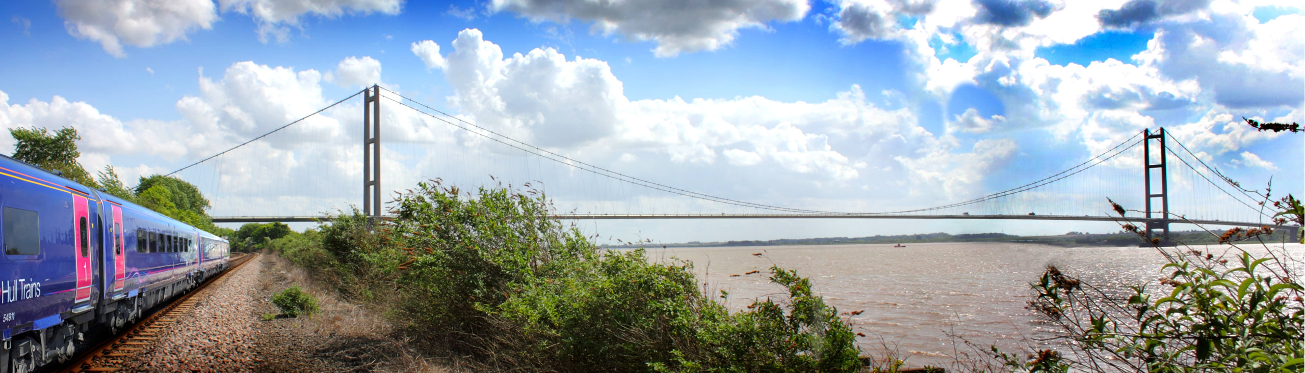 Hull Trains Humber Bridge Brough East Yorkshire
