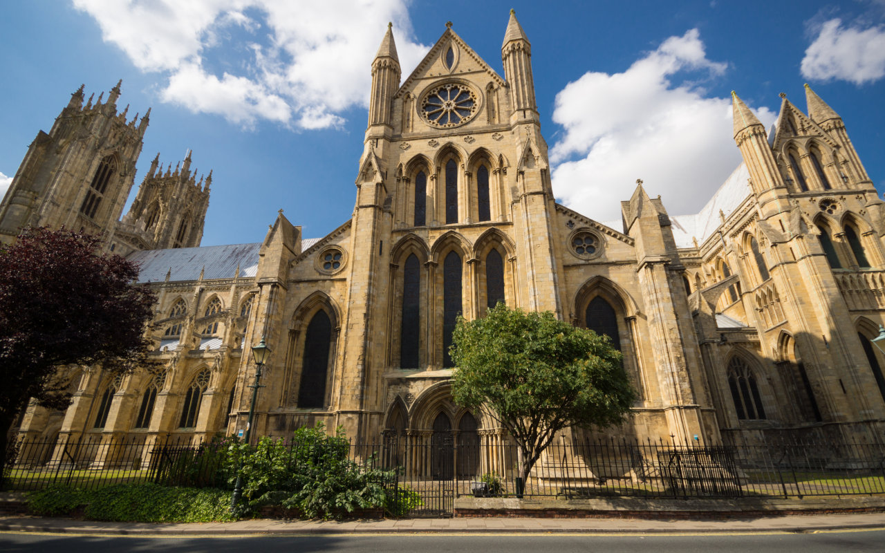 Hull Trains Beverley Minster East Yorkshire