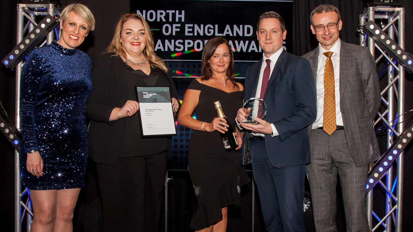 Hull Trains customer service awards