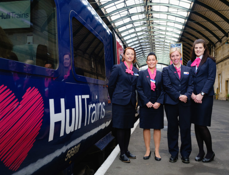 Hull Trains leading the way in balancing gender pay gap