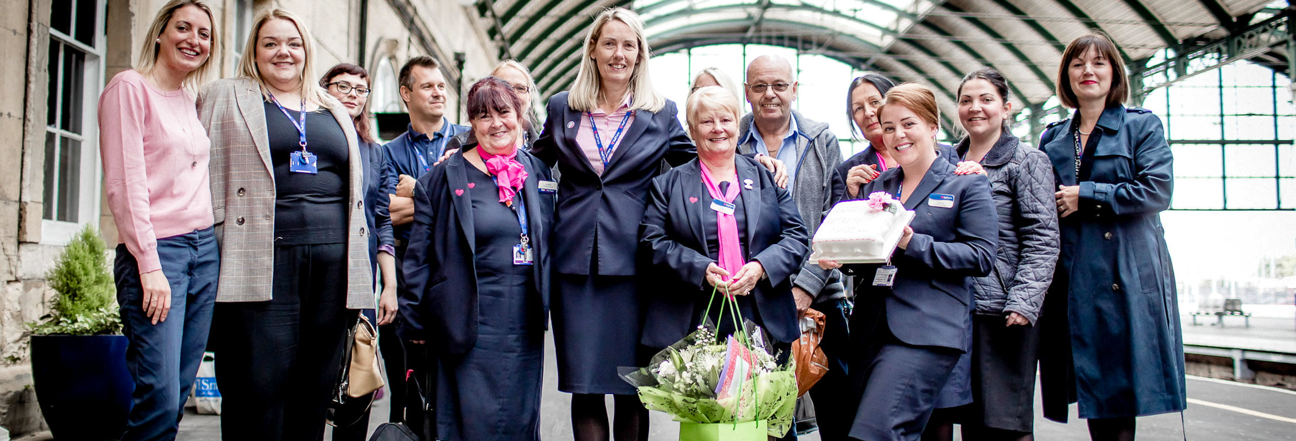Hull Trains bids farewell to colleague Mags at her retirement