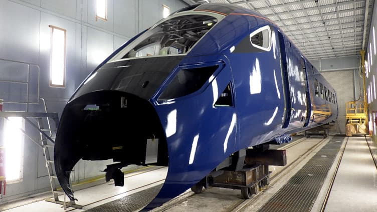 new train shell Hull Trains