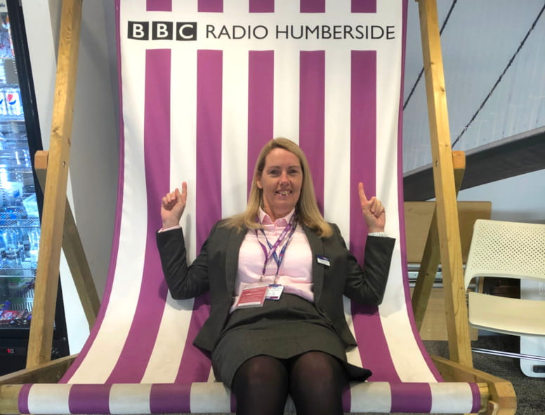 Hull Trains MD Louise Cheeseman BBC Radio Humberside