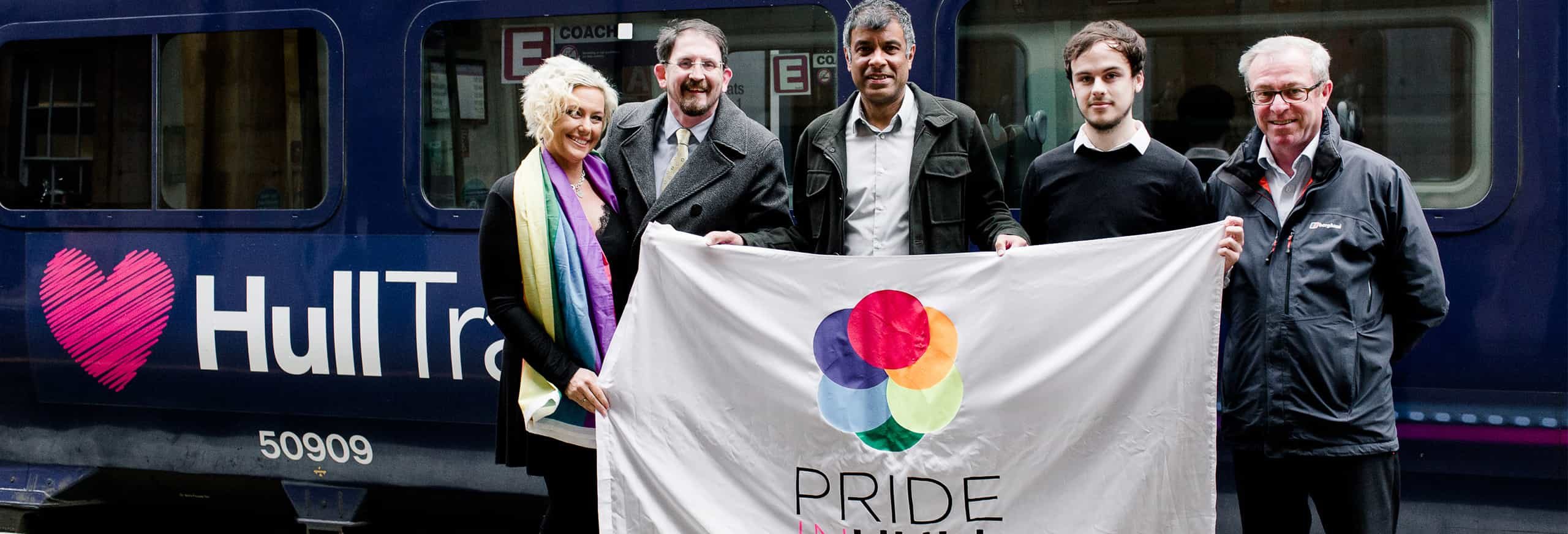Hull Trains sponsors Pride