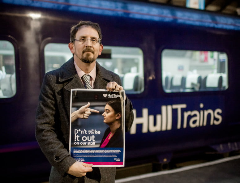 Hull Trains doesn't tolerate abuse campaign
