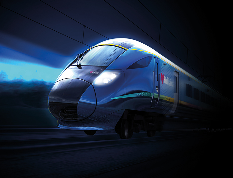 CGI of the new train