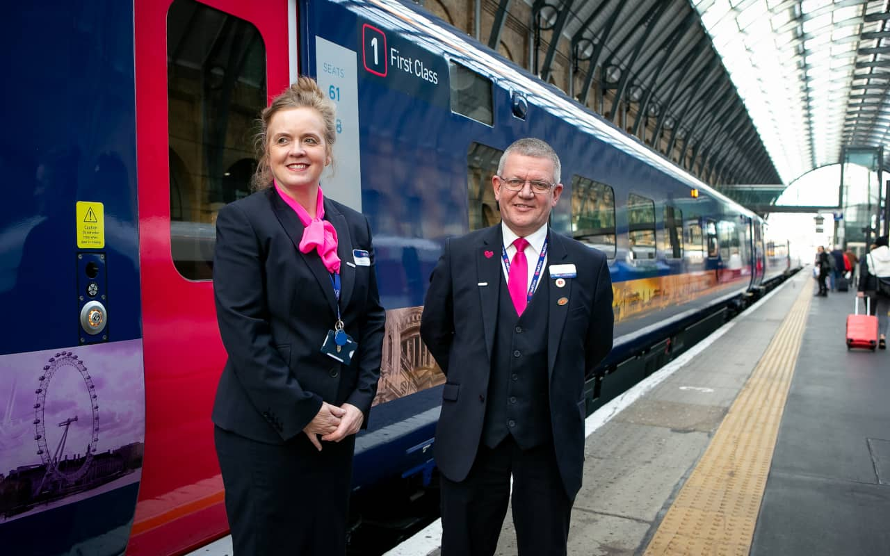 Hull Trains Paragon On Board Team Members