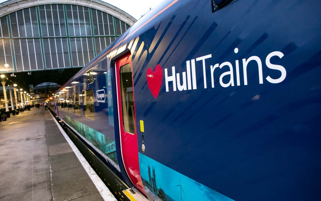 Hull Trains Paragon Exterior
