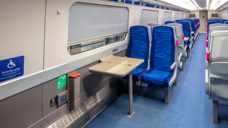 Hull Trains Paragon Fleet Accessibility