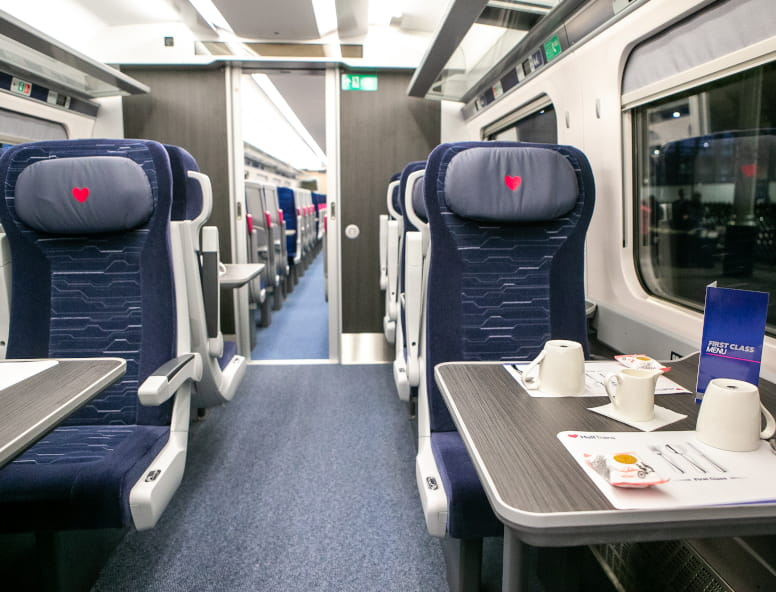 Hull Trains Paragon First Class