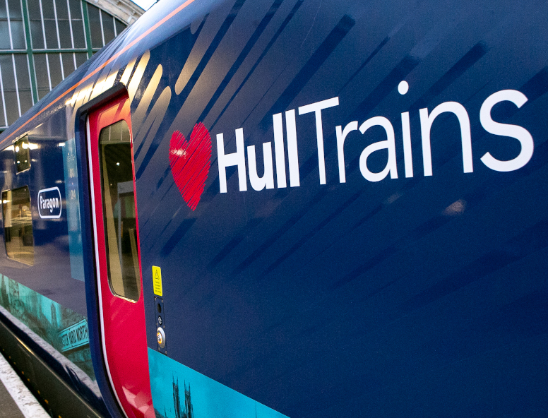 Hull Trains Paragon Fleet Exterior