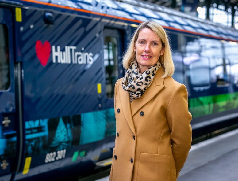 Hull Trains Paragon Fleet Launch Event