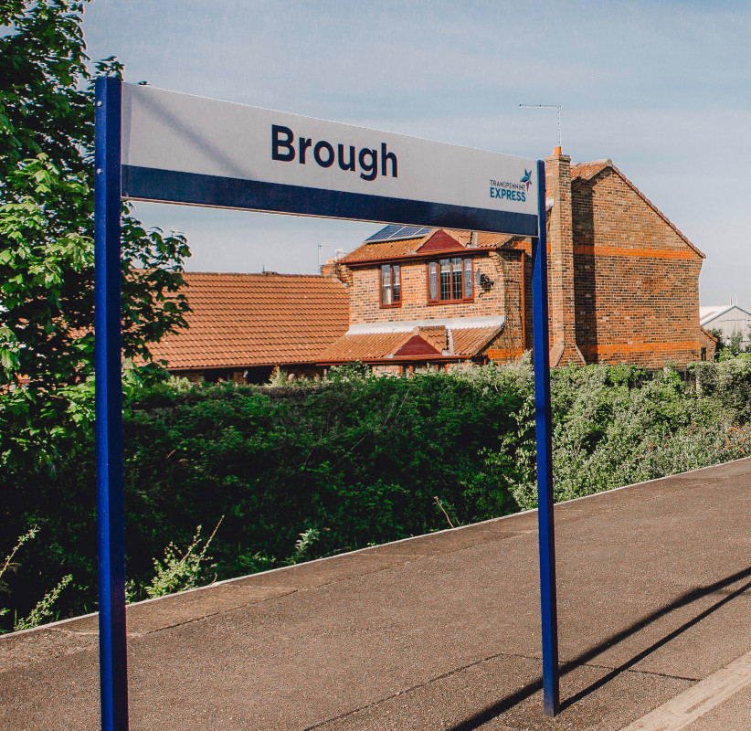 Brough station