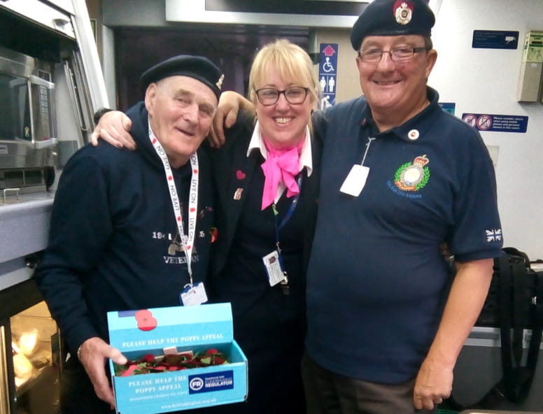 poppy appeal Hull Trains